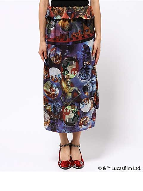starwars long skirt