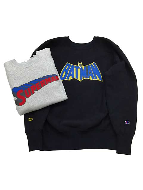 superman & batman sweat